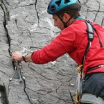 Placing gear in very accommodating cracks