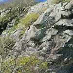 Typical Tremadog climbing