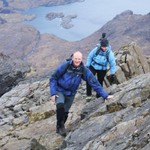 Still on the Dubh Ridge - it\'s a long day